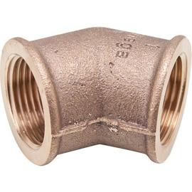 bronze bocht 45 gr bi x bi
