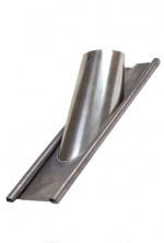 Concentrische 130 - 200 mm - dakdoorvoer 45-60 graden