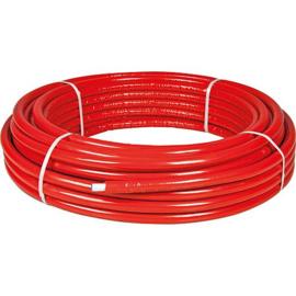 Rol kunstof rood geisoleerd 50 meter