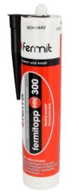 Hittebestendige silicone kit zwart en wit