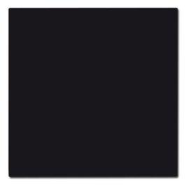 Vloerplaat rechthoek zwart staal 66 x 80
