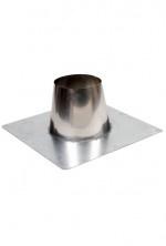 Concentrische 130 - 200 mm - dakdoorvoer plat dak