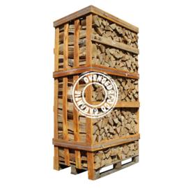 Berken en elzen haardhout (2 kuub kist) geleverd