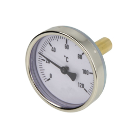 "Buffertank thermometer 1/2""  0 - 120 °C lang model"