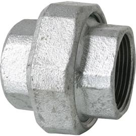staal 3-delige draad fittingen recht bi x bi