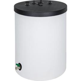 Zonneboiler 120 liter - 1 spiraal - boven aansluitingen