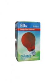 Rode Lamp voor schijnvuren / elektrische haarden