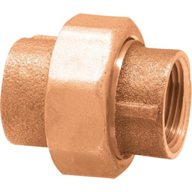 bronze 3-delig koppeling bi x bi - recht
