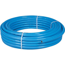 Rol kunstof blauw geisoleerd 50 meter