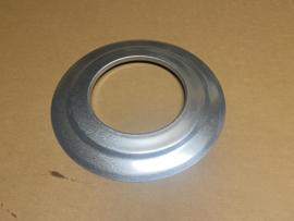 Rozet 130mm incl. bevestiging (zwart)