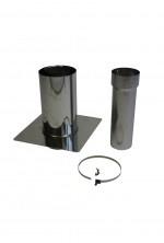 Concentrische 100 - 150 mm - saneringsset onderkant