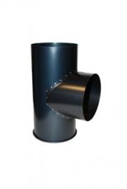 BGG 125mm - 90 graden T-stuk + dop
