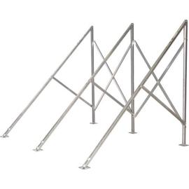 plat dak montage frame heatpipe rek