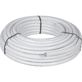 Rol kunstof  wit geisoleerd 25 en 50 meter