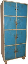 Locker 8-deurs