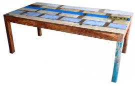 Tafels scrapwood 200/240/300cm