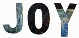 Scrapwood letters India | Otentic Design Decoratieve letters
