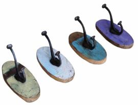 Kapstok ovaal 1 haak | Otentic Design
