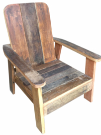 Loungestoeltje kind scrapwood