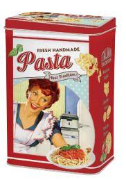 Pasta bewaarblik vintage