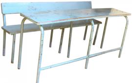 Schoolbank en tafel India Large