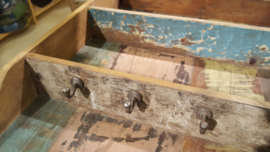 Keukenrek scrapwood hangend model