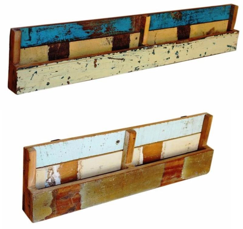 Wall organiser scrapwood | Otentic Design