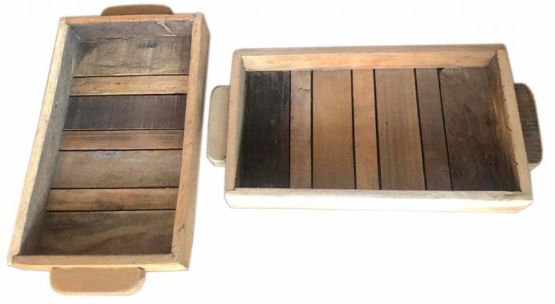 Dienblad Scrapwood Small No Colour| Otentic Design