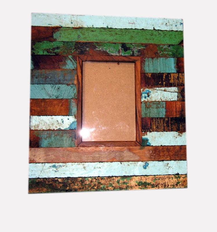 Fotolijst scrapwood 34x30cm