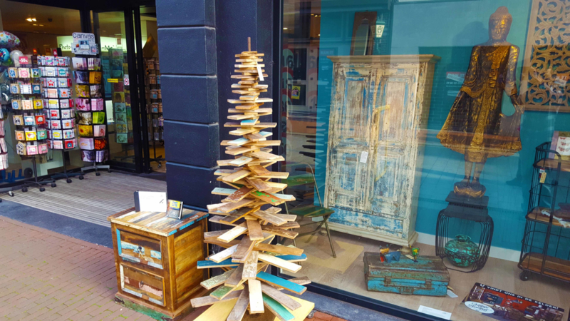 Scrapwood kerstboom groot