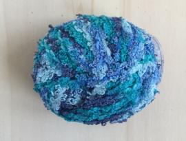 Badstof look Blauw - Blauw - Blauw
