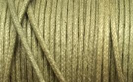 1 mm Licht Leger Groen Katoenkoord