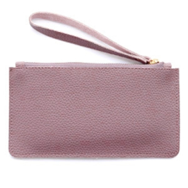 Clutch Soft Purple Aubergine
