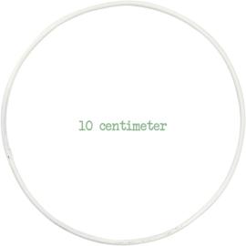 Draadring 10 cm Wit