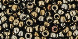 Rocailles 8/0 Metallic  Iris Brown