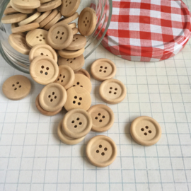 Knoop hout 2 cm