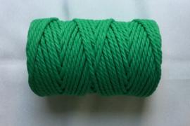 Macramé koord 5 mm  Groen