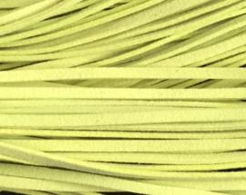 Suede veter Geel Groen