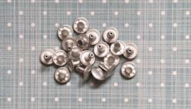 Holnieten Mat zilver 9 x 8 x 3