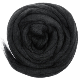 Merino Lontwol Charcoal Black