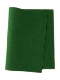 Wolvilt Donker Groen