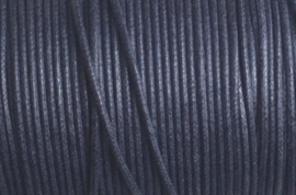 1 mm Donker Blauw Katoenkoord