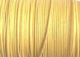 1 mm Geel Katoenkoord