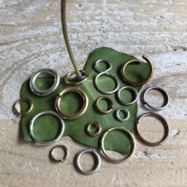 5 mm Open ringen per 20 stuks