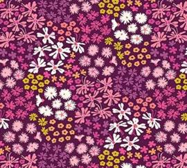 Purple color way flowers