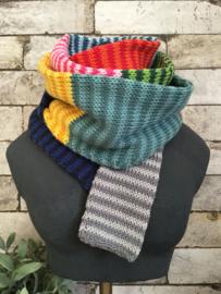 301 Streepjes sjaal breien