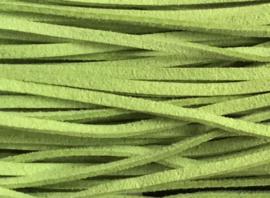 Suede veter Gras Groen