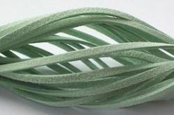 Suede veter Mint Groen