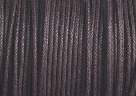 1 mm Donker Bruin Katoenkoord