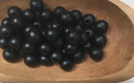 Zwart 12 mm (20 st)